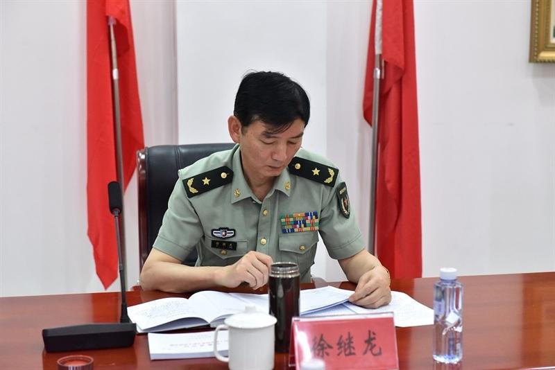 拉菲2娱乐平台官网 -安徽省军区副司令员徐继龙少将到